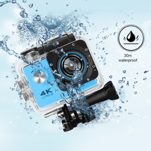 SJ60 2.0-inch LCD Waterproof 4K Wifi HD 1080P Action Camera Camcorder - Blue