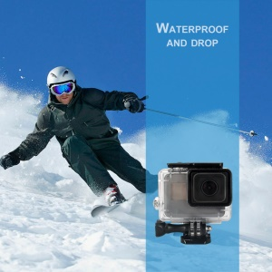 Waterproof Diving Surfing Protective Housing Cover Case Kit for GoPro Hero 6 / 5