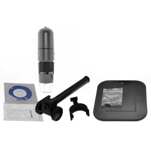 8 LED USB Connect Digital Electronic Microscope 1.3MP 1000X Zoom Endoscope Magnifier