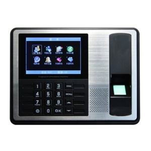 A7 4.3-Inch Screen Fingerprint Recorder Free-software Attendance Machine - EU Plug