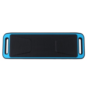 Portable Heavy Bass Bluetooth Wireless Speaker Support Aux-in/U Disk/TF Card for iPhone Samsung Huawei - Blue
