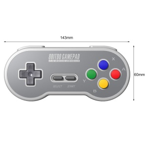 8Bitdo SF30 2.4G Wireless Controller for SFC Classic Edition Gamepad