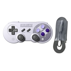 For 8Bitdo SNES30 Pro Wireless Bluetooth Controller Dual Classic Joystick