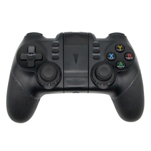 Wireless Bluetooth Game Pad Game Controller Joystick for Android Phones - Black