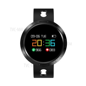 X9V0 0.95 Inch OLED Bluetooth 4.0 Smart Bracelet with Sleeping/Heart Rate/Blood Pressure Monitor - Black