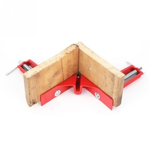 90° Right Angle Clip Fishtank Picture Frame Corner Clamp Woodworking Tool