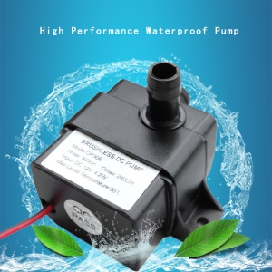 QR30E High Performance DC 12V 4.2W 240L/H Flow Rate Waterproof Brushless Pump
