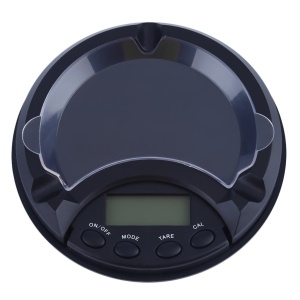 500g/0.1g Tare Indicator Display LCD with Backup Light Digital Scale Ash Tray