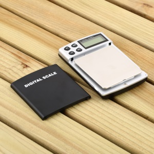 1Kg/0.1G Stainless Steel Jewelry Scale LCD Display Blance Weight Scale