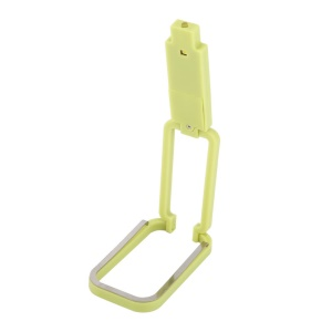 Four-in-One LED Clip-on Book Light  + Flashlight + Table Lamp + Business Card Clip - Yellow