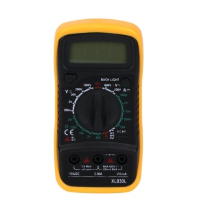 XL830L Display Digital Multimeter Volt Meter Ammeter Ohmmeter Tester