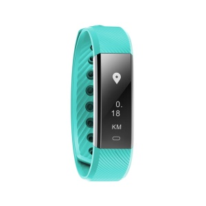 Step Counter Sports Sleep Monitoring Alarm Clock Bluetooth Smart Wrist Watch - Green