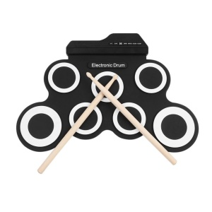 G3002 USB Electronic Drum Kit Percussion Instrument for Children
