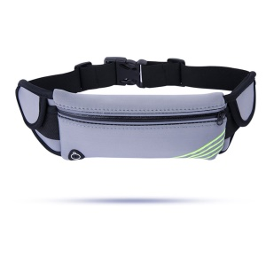 Multifunction Outdoor Sports Waist Bag Water Bottle Pouch Bag Mobile Bag - Grey