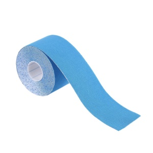 1 Roll 5cm x 5m Kinesiology Sports Elastic Bandage Muscle Pain Care Therapeutic - Baby Blue