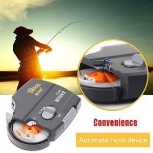 Full Automatic Fishing Hook Tier Tie Fast Fishing Hooks Line Tying Device