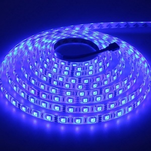 RGB Colorful 16.4ft 60 LEDs/m LED Strip Light Set with Smart WiFi Control - EU Plug