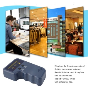 Handheld RFID 125KHz T5577 EM4305 ID Card Copier 3 Writable Tags and Cards
