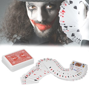 Poker Playing Card Close-up Magic Trick Props Deck of Cards Toys - Red