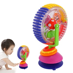 Wonder Sky Wheel Toy Ferris Wheel Model Toy Baby Stroller Toy Education Toy - Random Color