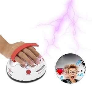Polygraph Shocking Liar Detector Micro Electric Shock Lie Detector Truth Game Toy