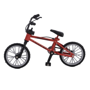 Mini Size Simulation Alloy Finger Bike Children Kid Funny Mini Finger Bike Toy - Red