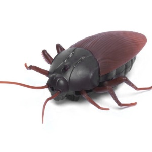 Plastic Simulation Scary Creepy Cockroach Infrared Remote Control Scary Toys