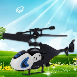2.0 Channel RC Mini Helicopter Remote Control Airplane - White