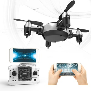 KY901 Mini Folding RC Quadcopter 360 Degree Rollover Altitude Hold RC Drone without Camera - Silver / Black