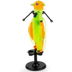 Induction Flying Bird Mini Helicopter USB Bird With Music Sound Funny Toys
