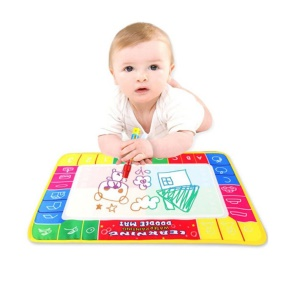 Water Drawing Painting Writing Board Mat Magic Pen Toys Xmas Gift for Children