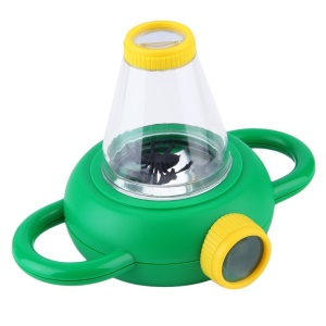 Two Way Bug Insect Observation Viewer Kids Toy Magnifier Magnifying Glass