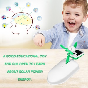 6 in 1 Solar Panel Toys Puppies Planes Science and Education DIY Assembly Kit
