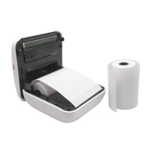 1 Roll Coreless Heat-sensitive Paper Canvas Mobile Pos Machine Paper 57x30mm