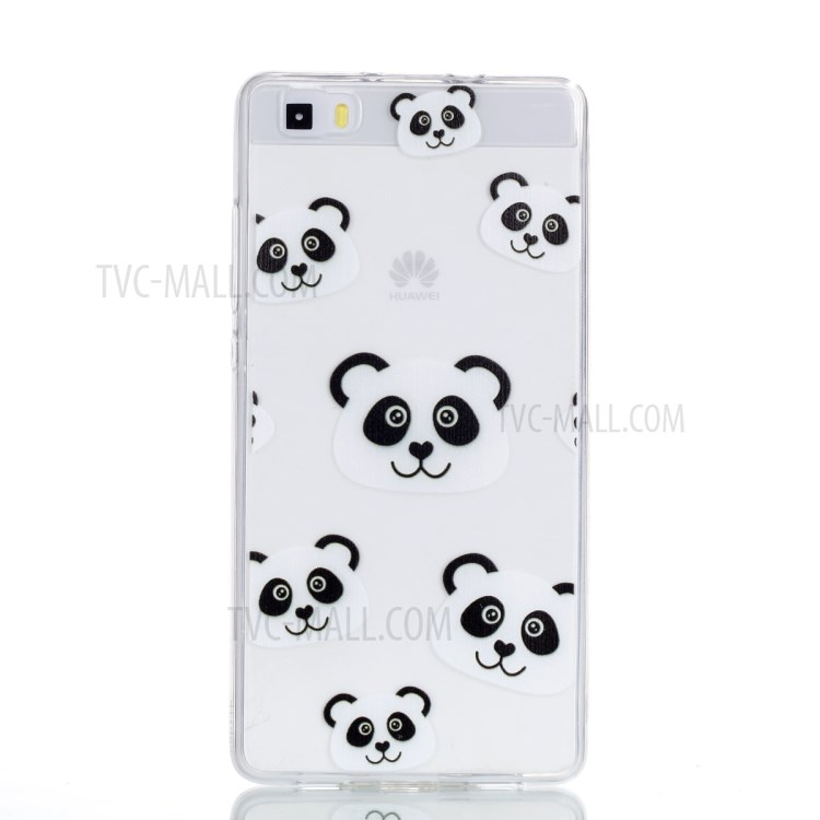 Pattern Printing TPU Shell for Huawei P8 Lite (2015) - Panda Pattern-2